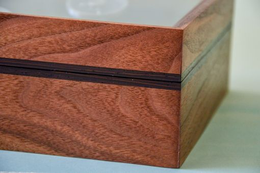 Custom Made Walnut Watch Box