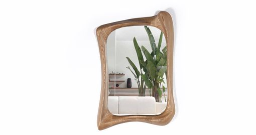 Custom Made Narcissus Mirror Frame
