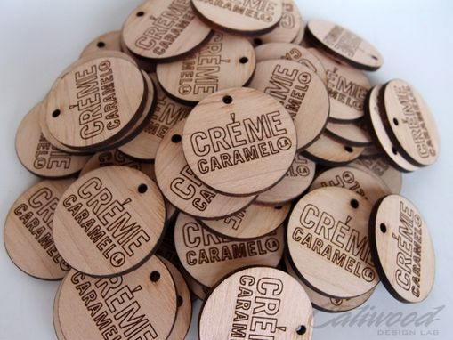 Custom Made Wooden Drink Coins