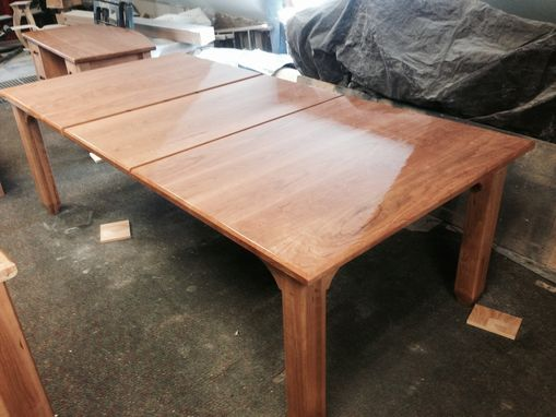 Custom Made Solid Cherry Extension Table