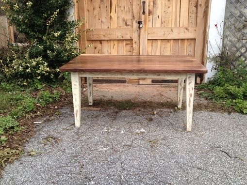 Custom Made Hardwood Farm Table