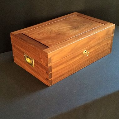 Custom Made Walnut Jewelry Box