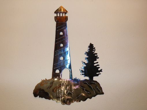 Custom Made Lighthouse Wall Art