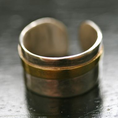 Custom Made Finger Cuff Ring