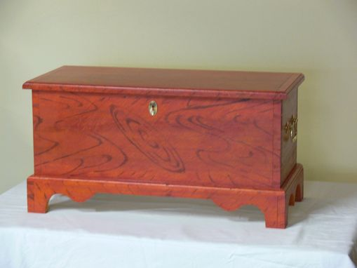 Custom Made William And Mary Two-Drawer Chest