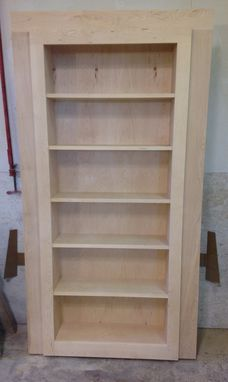 Custom Made Secret Bookcase Door