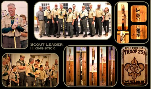 Custom Made Eagle Scout Gift - Scout Leader Gift,Troop Leader Gift,Boy Scout Gift,Girl Scocut Troop Leader Gift