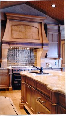 Custom Made Custom Kitchen Backsplash, Omaha