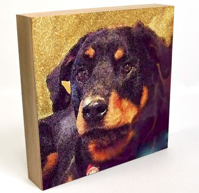Custom Made Custom Pet Portrait, Dogs And Puppies