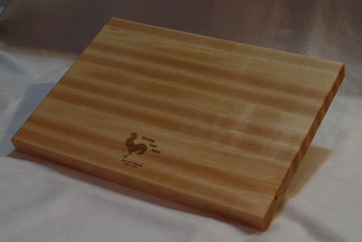 Custom Made Engraved Cutting Board - Personalized With Your Logo