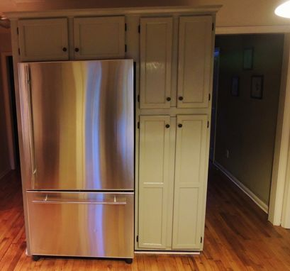 Custom Made Almost Built In Refridgerator