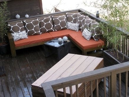 Custom Made Outdoor Sectional Couch
