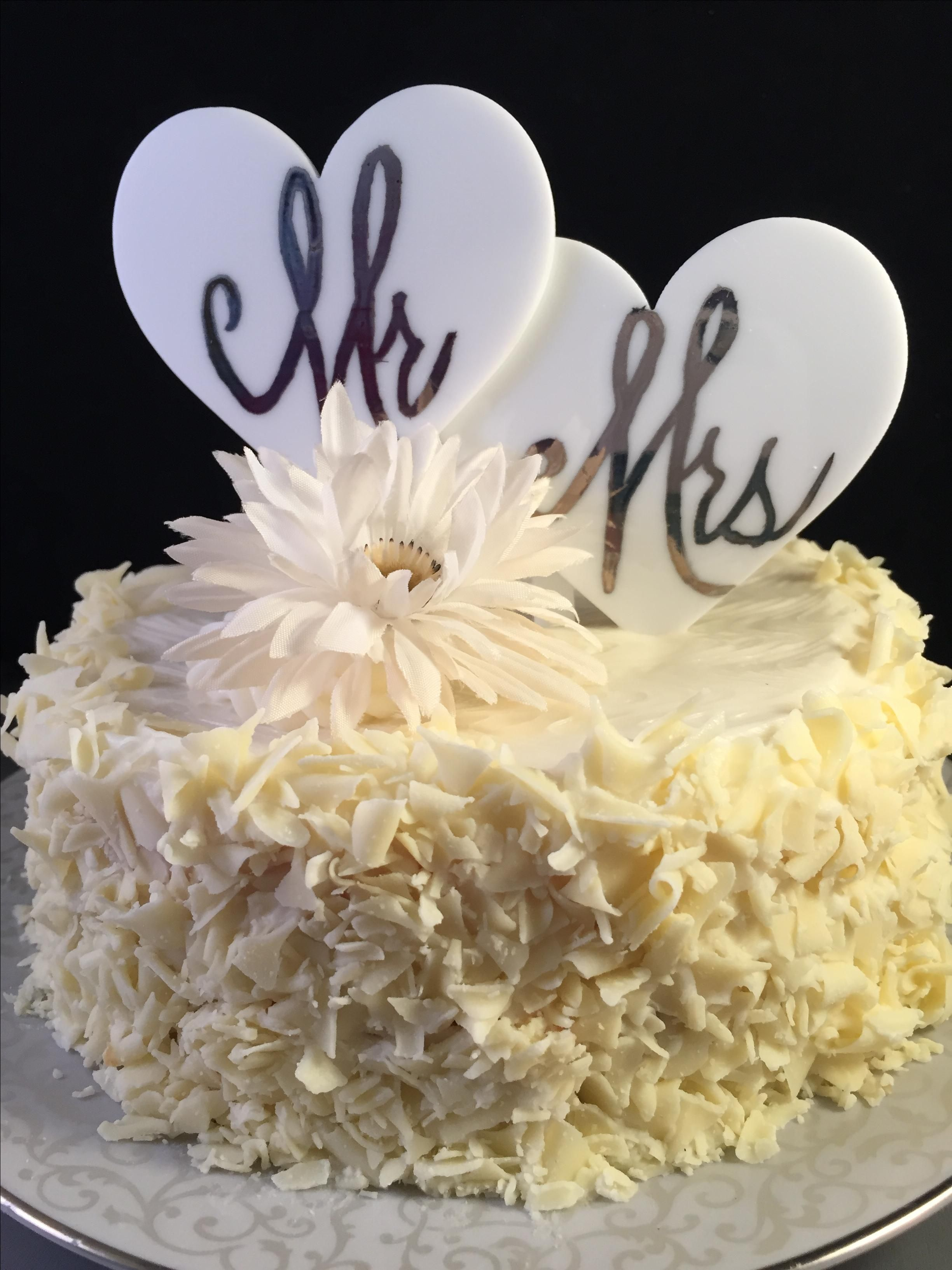 Buy a Custom Personalized Wedding Cake Topper, made to order from ...