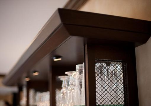 Custom Made Family Room Wet-Bar.