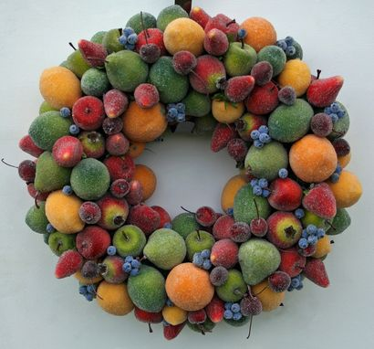Custom Made Sugared Fruit Wreath