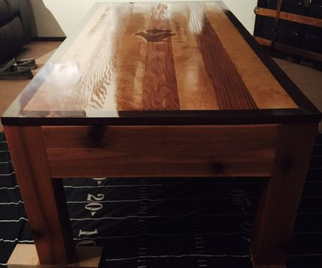 Custom Made Personalized Coffee Table