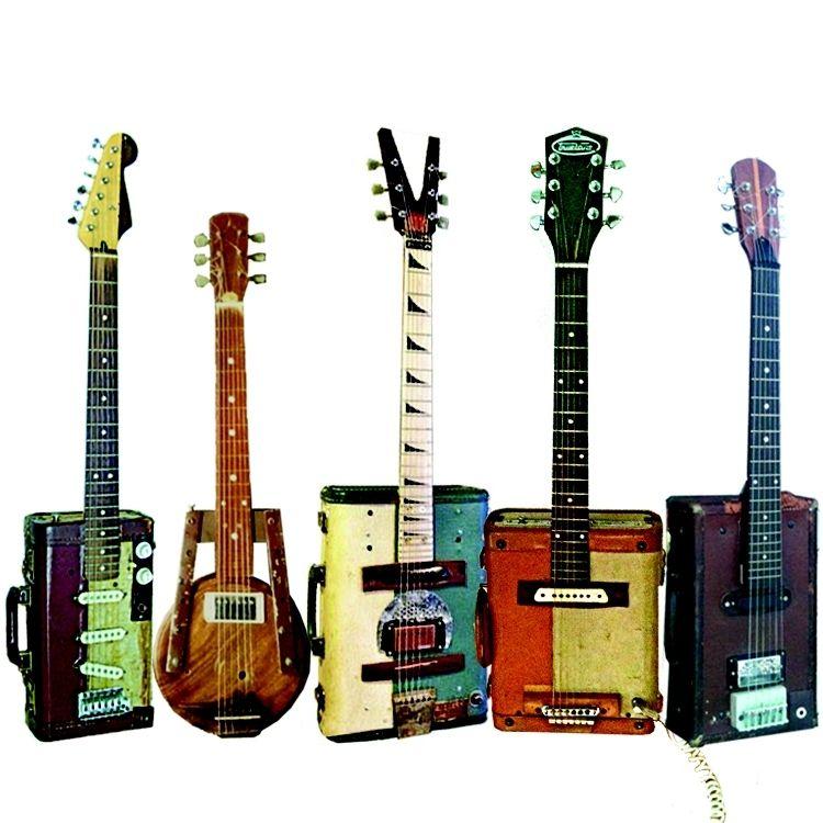 Handmade Custom Homemade Antique Electric Guitars By Jeff