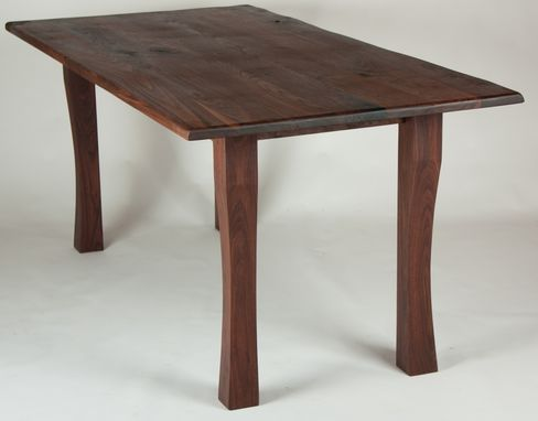 Custom Made Subtle Curve Dining Table