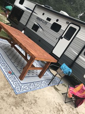 Custom Made Outdoor Table Ready To Go!