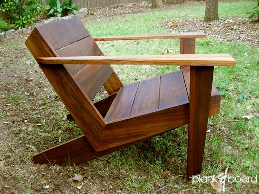 Custom Made Modarondack Modern Adirondack Chair By Plank