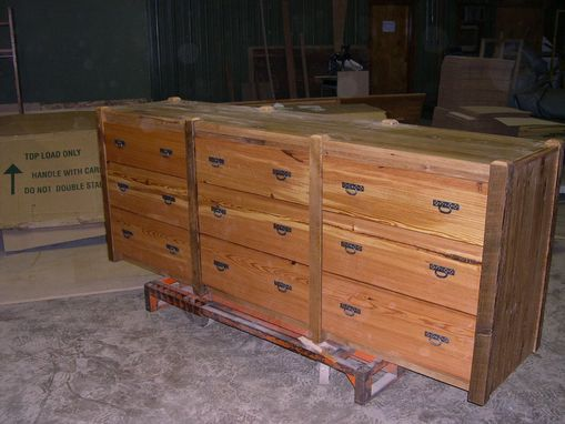 Custom Made Bed And Dresser