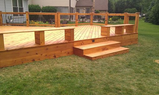 Custom Made Cedar Deck Rebuild