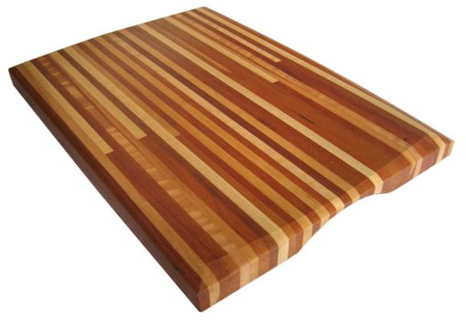 Custom Made Custom Handmade Edge Grain Cutting Board