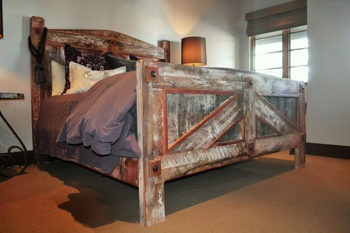 Custom Made Custom Rustic Bed