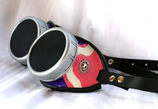Custom Made Painted Goggles