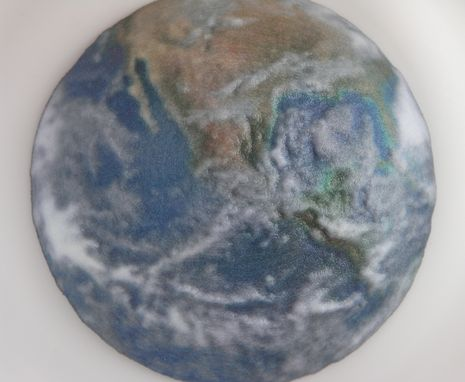 Custom Made Globe Magnifying Glass / Paperweight