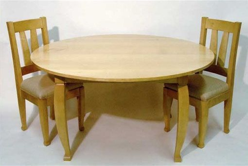 Custom Made Table With Chairs