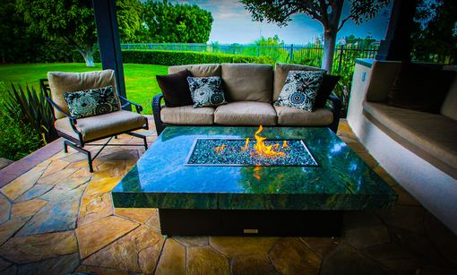 Custom Made Montecito Fire Pit Table