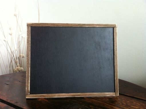 Custom Made Rustic Wedding Chalkboard Display Sign