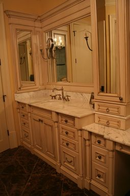 Custom Made Custom Bathroom Cabinetry