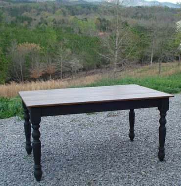 Custom Made Farmhouse Kitchen Table