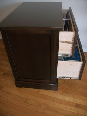 Custom Made File Cabinet