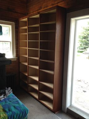 Custom Made 8'-0 Tall Cherry Pantry Cabinets With Adjustable Shelving