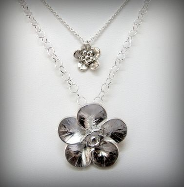 Custom Made Forget Me Not Necklaces - Small And Large