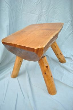 Custom Made Log Stool