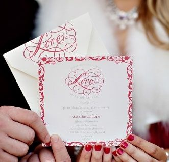 Custom Made Custom Wedding Invitations