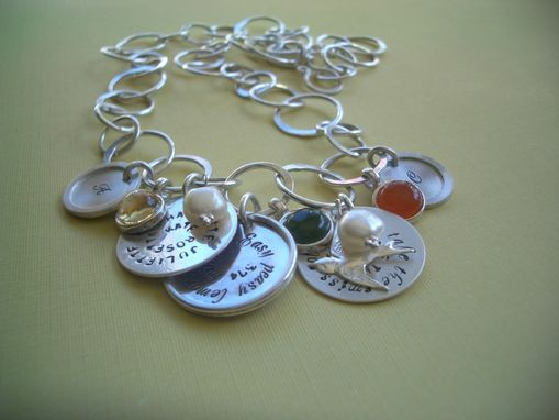 Custom Made Life Story Sterling Silver Necklace