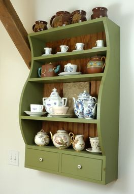 Custom Made Display Shelves