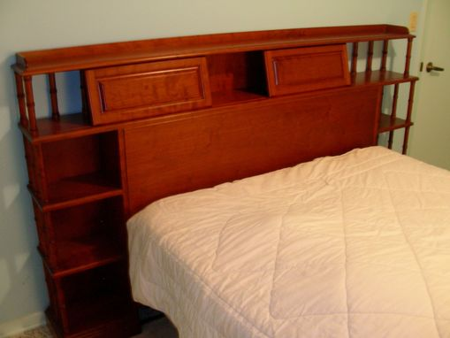 Custom Made Kastner Headboard - Solid Cherry