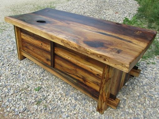 Custom Made Poplar Entertainment Bench