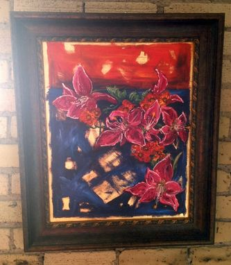 Custom Made Floral Oil Paintings