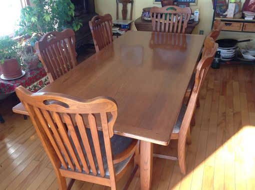 "Custom Made 86"" X 42"" Farm Table"