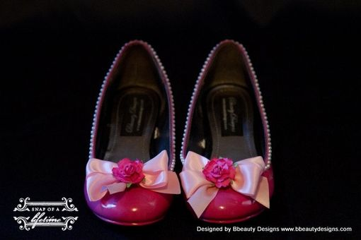 Custom Made Sleeping Beauty Couture Style Adult Costume Pair Shoes Dress Shoes Custom Made