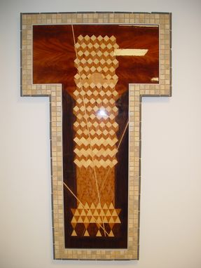 Custom Made Marquetry Artwork