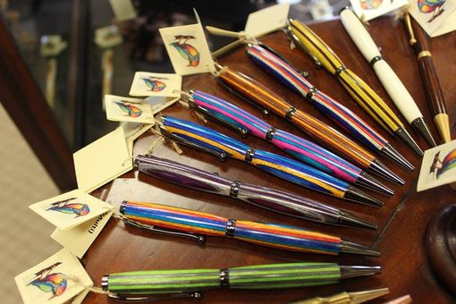 Custom Made Spectraply Ballpoint Pens