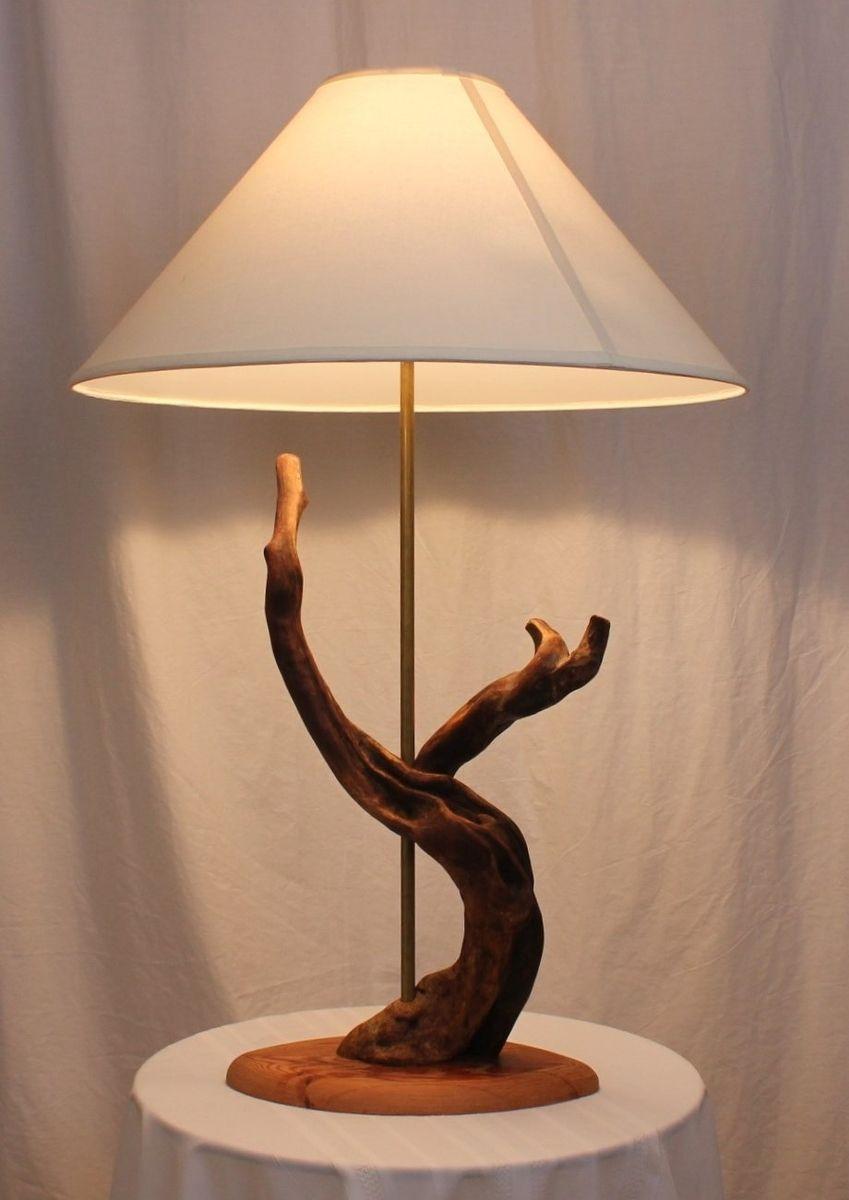 Handmade driftwood table lamp by driftwood cactus adventures - Handmade table lamp ...
